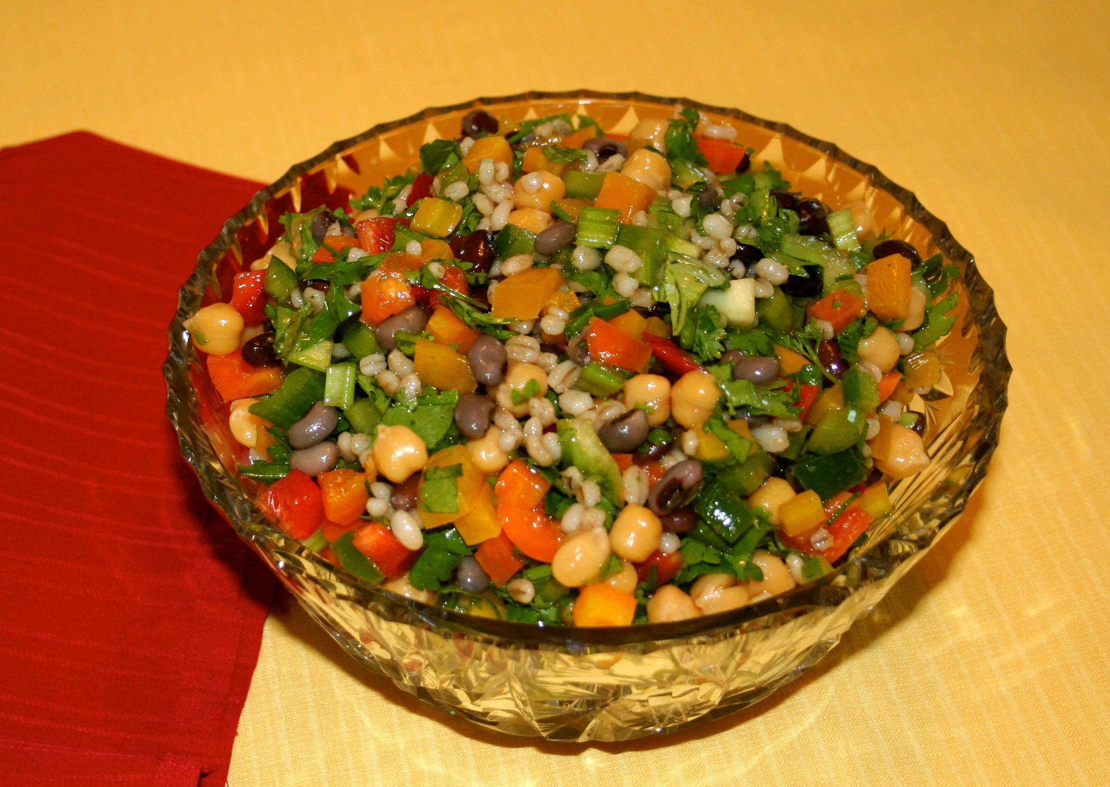 Tuscan Bean Salad | Veggie Yogi