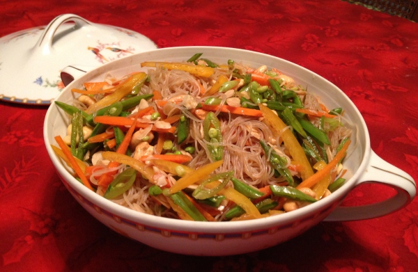 Asian Rice-Noodle Salad