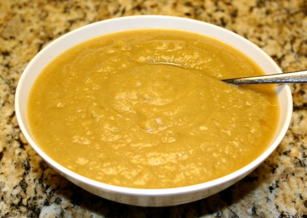 Cauliflower-Potato-Leek-Avacado Soup