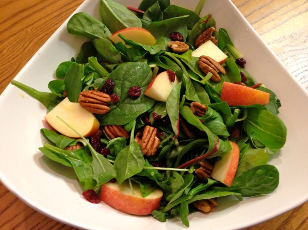 Apple-Cranberry-Pecan Salad